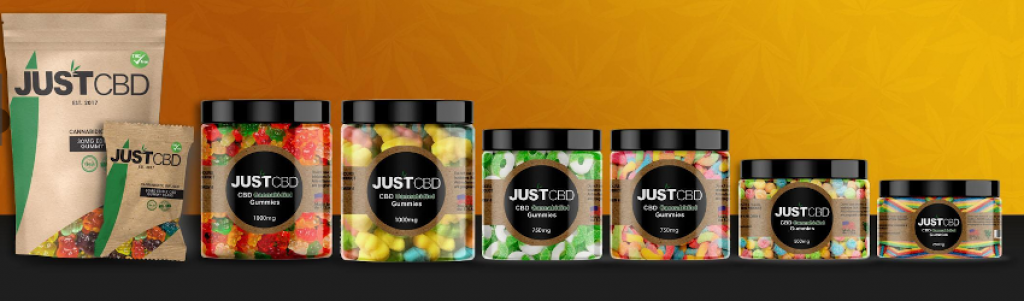 CBD Gummies 3000mg Jar - Party Pack by Just CBD Review